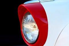 Классицистическая фара автомобиля Стоковая Фотография