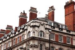 классицистические дома викторианские Стоковое фото RF
