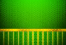 Классицистические зеленые обои бесплатная иллюстрация