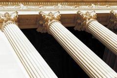 классицистические колонки Стоковое Фото