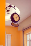 Классицистические часы Стоковое Фото