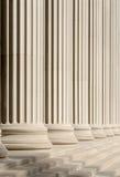 классицистические шаги колонок Стоковые Изображения RF