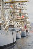 классицистические яхты Стоковые Изображения RF
