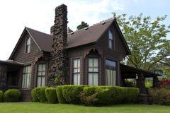 классицистический дом Стоковая Фотография RF