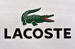 классицистический логос lacoste Стоковое Изображение RF