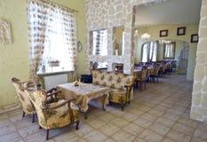 классицистический нутряной ресторан Стоковое Фото