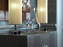 классицистический нутряной minimalist Стоковая Фотография RF
