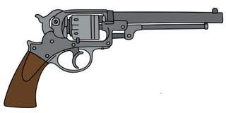Классицистический револьвер Стоковые Изображения RF