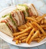 классицистический сандвич клуба Стоковые Изображения