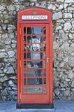 классицистический телефон Стоковое Фото