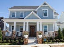 классицистический тип дома Стоковые Изображения RF