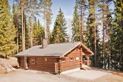 классицистический финский дом Стоковое Изображение RF