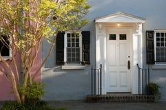 классицистический фронт двери georgian Стоковая Фотография RF