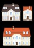 Классицистический дом типа Стоковое Фото