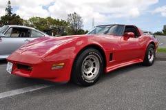 классицистический corvette Стоковое фото RF