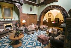 классицистическое лобби гостиницы Стоковая Фотография