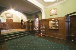 классицистическое лобби гостиницы стоковые фотографии rf
