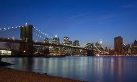 классицистическое New York Стоковые Фото