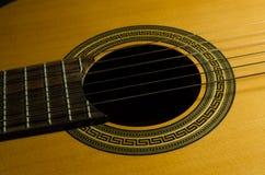 Классическая акустическая гитара Стоковое фото RF