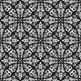 Классическая безшовная картина вектора Стоковая Фотография RF