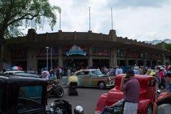Классическая выставка автомобиля в Минесоте назад к 50 ` s стоковое изображение rf