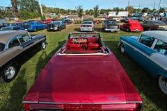 Классическая выставка автомобиля в Hastings, Минесоте стоковое фото rf