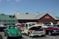 Классическая выставка автомобиля на магазине Lehmans Стоковое Фото