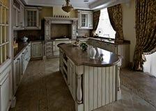 классическая нутряная таблица типа комнаты Стоковые Фото