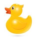 Классическая резиновая утка Стоковое Изображение
