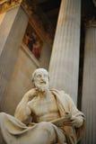 классическая статуя колонок Стоковая Фотография RF
