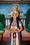 Классическая тайская настройка Monohra тип возникновения драмы танца стоковое изображение rf