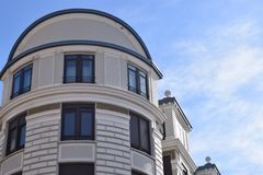 Классические и элегантные здания Стоковая Фотография RF