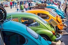 Классические корабли жука VW Стоковые Изображения RF