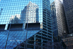 классические небоскребы manhattan ny Стоковые Фотографии RF