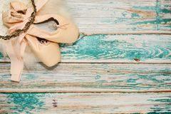 Классические обмундирование и упорки роли балета Стоковые Изображения RF