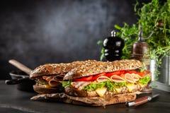 Классические сандвичи BLT стоковое фото rf