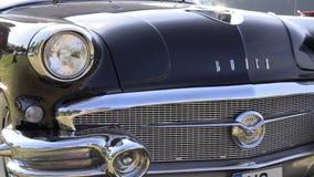 Классический американский автомобиль, buick oldtimer видеоматериал