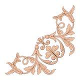 Классический барочный вектор орнамента Стоковая Фотография RF