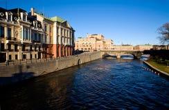 классический взгляд stockholm стоковое фото