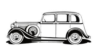Классический винтажный автомобиль от ` 1930 s стоковое изображение