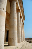 классический висок Греции Стоковая Фотография