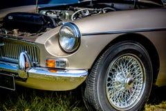 Классический двигатель автомобиля стоковое фото rf