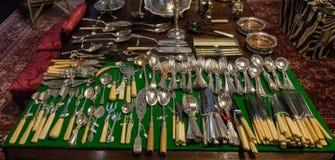 Классический комплект Dinnerware стоковая фотография rf
