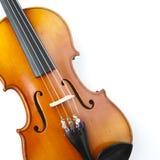 классический конец вверх по скрипке Стоковое фото RF