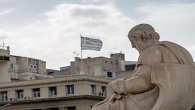 Классический конец Платона статуй вверх видеоматериал