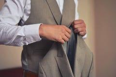 Классический костюм людей для особенных случаев стоковое изображение rf