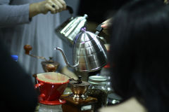 Классический кофе бака Стоковое фото RF
