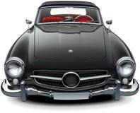 Классический мягкий верхний автомобиль с откидным верхом Стоковое Изображение RF