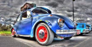 Классический немец Volkswagen Beetle Стоковые Изображения