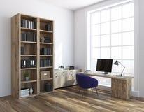 Классический свет угла домашнего офиса бесплатная иллюстрация